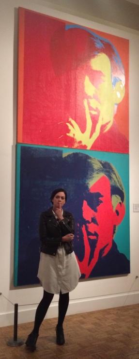 At the Detroit Institute of Art