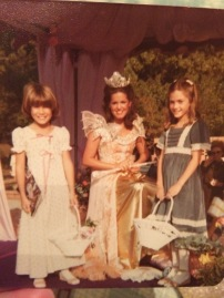 ca 1978 with Queen Claire Ramey