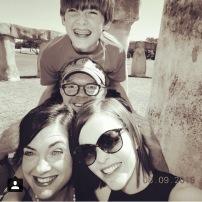 Selfie at Stonehenge 2