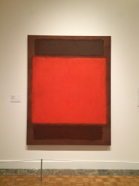 Orange, Brown ca. 1963. Taken at the Detroit Institute of Art