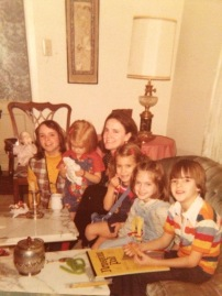 Ca 1965 with Romy Roquemore Polk, Allie Burns Noonan and JoAnn Rocquemore