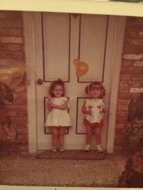 ca 1973 at my birthday party
