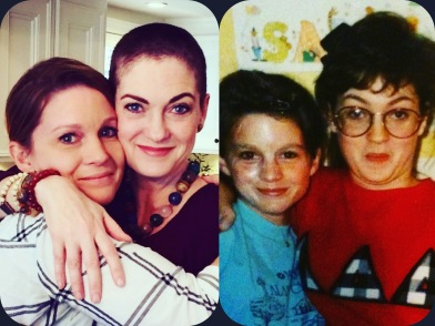 Sarah and me ca. 2016 and 1989