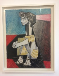 Picasso's portrait of Dora Mar
