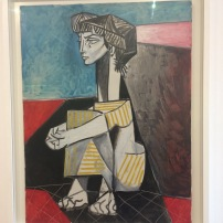 Picasso's portrait of Dora Mar