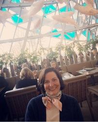 Lauren at lunch