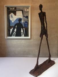 Picasso/Giocometti exhibit at the Picasso Museum