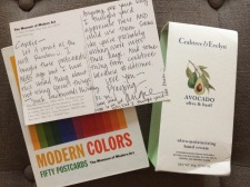 MOMA cards and Crabtree & Evelyn lotion from Angie Anderson Ratteree