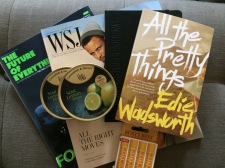 WSJ care package from Andy & Fobby Johnson