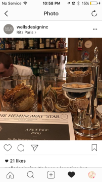 Drinks at Bar Hemingway