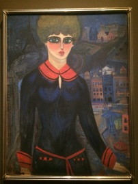 Nahui Olin: Self Portrait: A Student in Paris, ca 1914 - Nahui Olin
