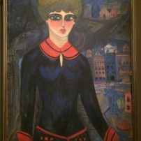 Nahui Olin: Self Portrait: A Student in Paris, ca 1914 - Nahui Olin