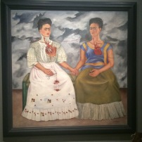 "Frida Kahlo - ""The Two Fridas"", ca 1939 - Frida Kahlo"