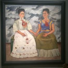 "Frida Kahlo - ""The Two Fridas"", ca 1939 - Frida Kahlo"
