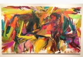 "Elaine de Kooning, ""The Bullfighter"""