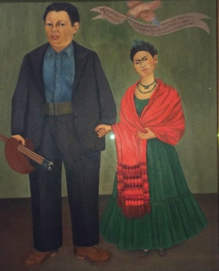 Kahlo's Frieda and Diego Rivera, 1931