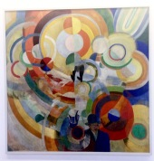 "Robert Delaunay, ""Carousel with Pigs"""