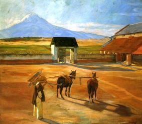 The Threshing Floor, 1904