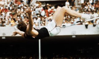 Fosbury at the 1968 Summer Games in Mexico City