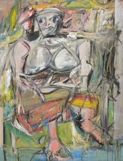"Willem de Kooning, ""Woman 1"" 1950"