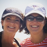 Louise and me in Galveston over Labor Day