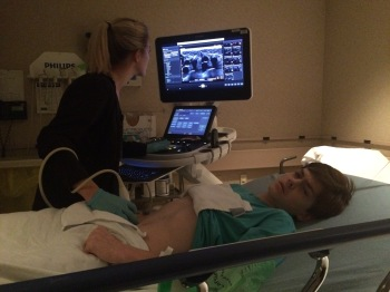The ultrasound