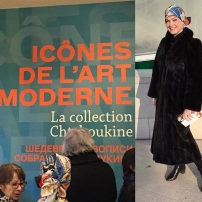 "Entering ""Icons of Modern Art"" in Paris"